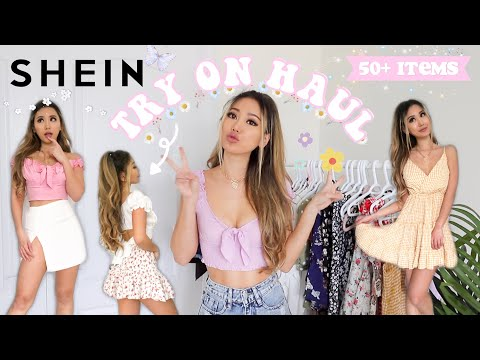 SHEIN TRY ON HAUL *NEW IN* Over 50+ Items | Discount Code & GIVEAWAY!!