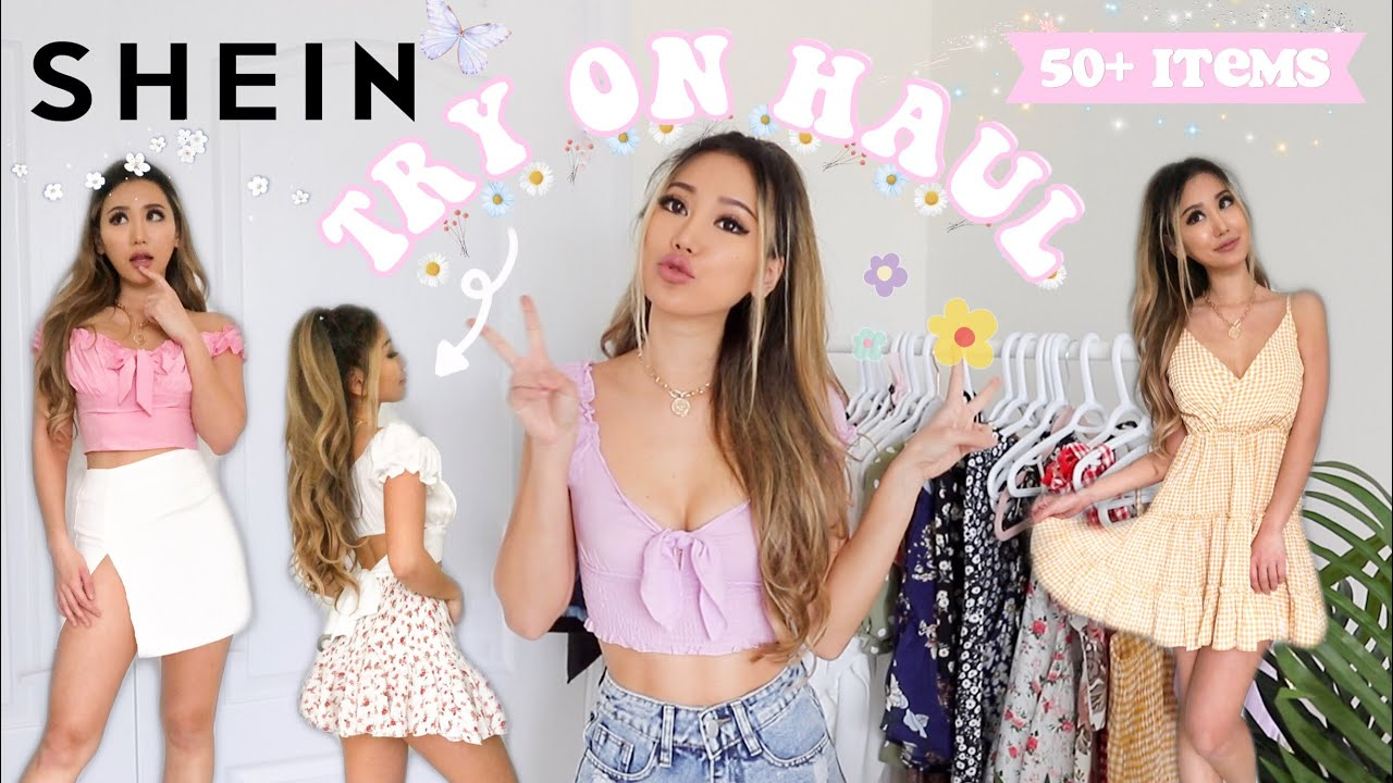SHEIN TRY ON HAUL *NEW IN* over 50+ items | Discount code 2020