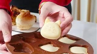 쿠키 머핀 실리콘 베이킹틀 동물 캐릭터 머핀몰드