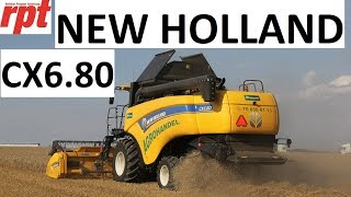 New Holland CX6.80 pod lupą RPT