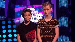 Bars and Melody - I.L.Y. (I Love You) - Live Performance - Sam & Mark