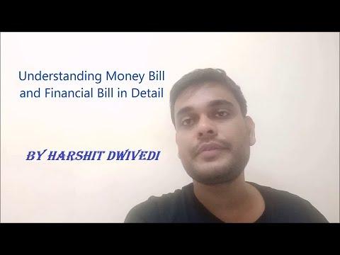 Money Bill(Art 110) & Financial Bill(Art 117) Detailed Explanation