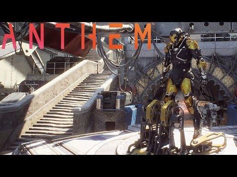 Anthem Demo Xbox One X Gameplay