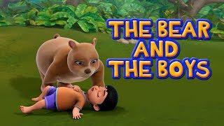The Bear and Two Friends   Bengali Stories for Kids   Infobells