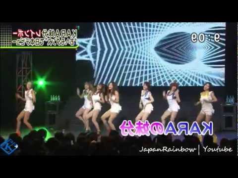 110919 Rainbow - Full Cut (Japanese Debut Event) @ Japan TV News #2