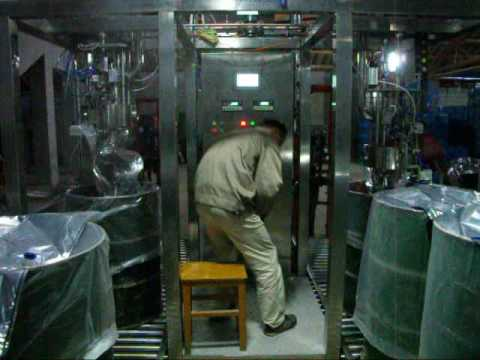 aseptic  bags filling machine  production video 01
