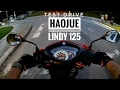 Test Drive Haojue Lindy 125