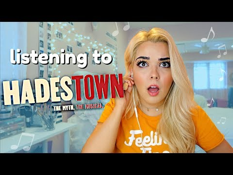 Reacting to HADESTOWN THE MUSICAL
