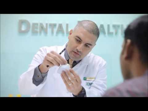 Emirates Medical Center EMC Veneer  مركز الإمارات الطبي  فينير تركيب الأسنان إبتسامة هوليوود