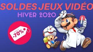SOLDES JEUX VIDÉO HIVER 2020