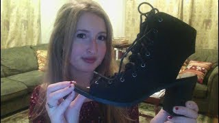 *ASMR* Clothing, Shoes, & Accessories Haul! *Whisper*
