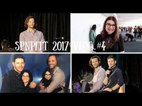 Jared Padalecki Thinks I'm Awesome | SPNPitt Sunday Vlog (Pittcon 2017)