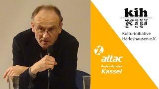 """""""TTIP – Global und vor Ort""""  - 1.2   Beitrag von Dr. Stefan Beck - Verhandlungshindernisse"""