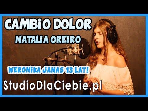 Cambio Dolor - Natalia Oreiro (cover By Weronika Janas) #1167