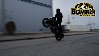 WORLDWIDE BOMBER MAGAZINE KAWASAKI Z650 TEST RIDE