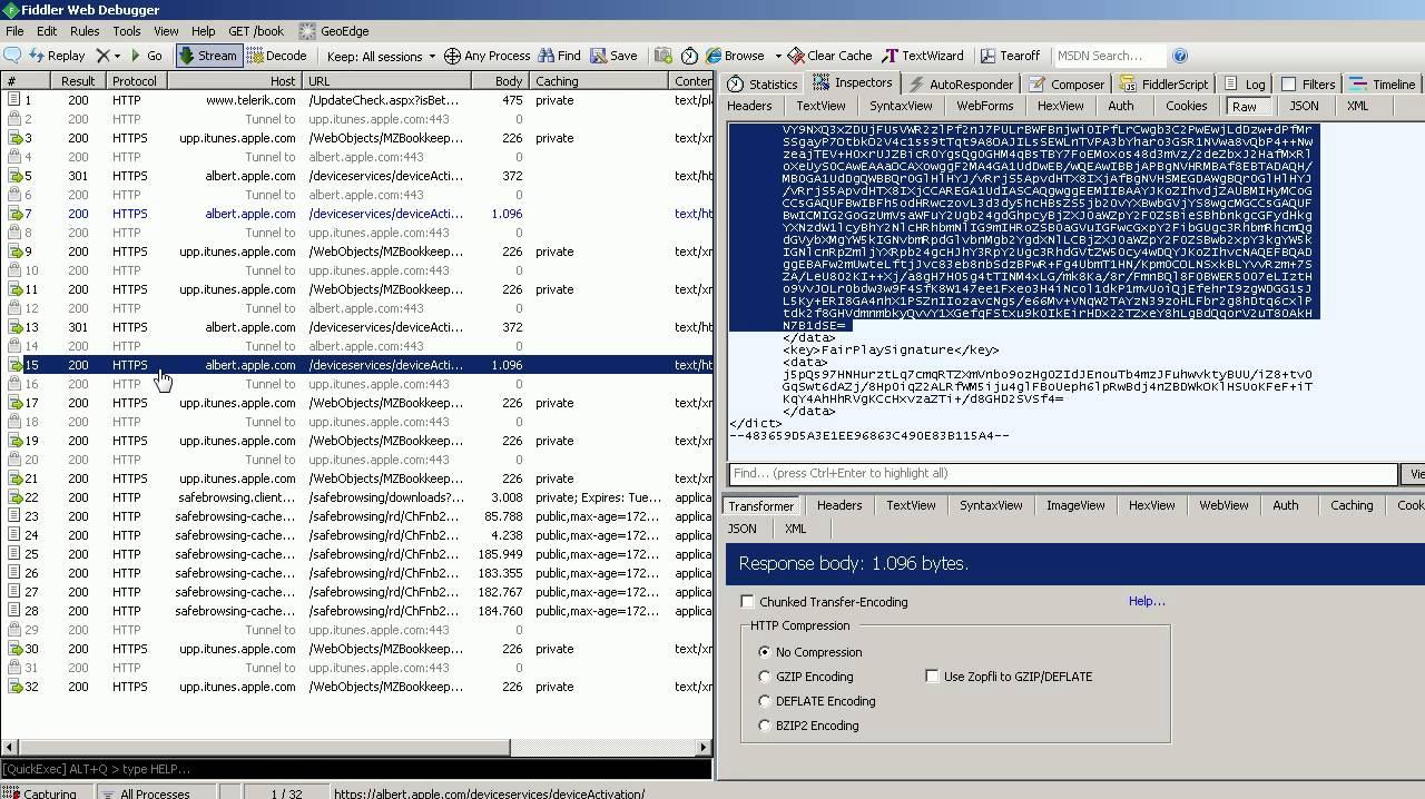 server activation icloud