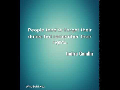 Indira gandhi people tend to forget their duties but remember their indira gandhi people tend to forget their duties but remember their rights altavistaventures Image collections
