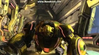 Прохождение игры Transformers Fall of Cybertron 1 часть.