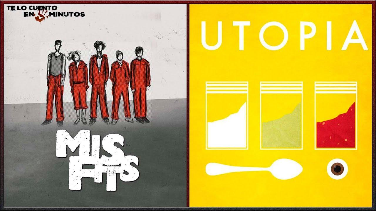 Download Misfits (2009) -  Utopia (2013) - Te lo cuento en 5 min.