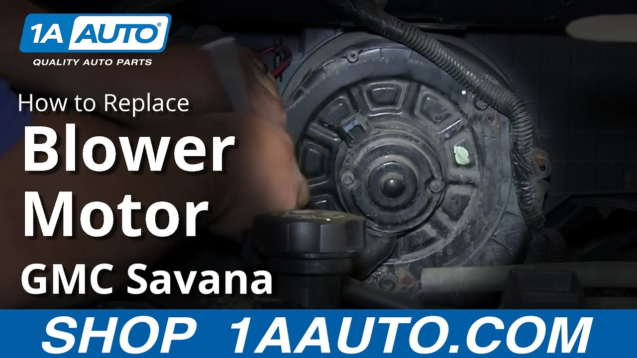 How to Install Replace AC Heater Fan Blower Motor 1997