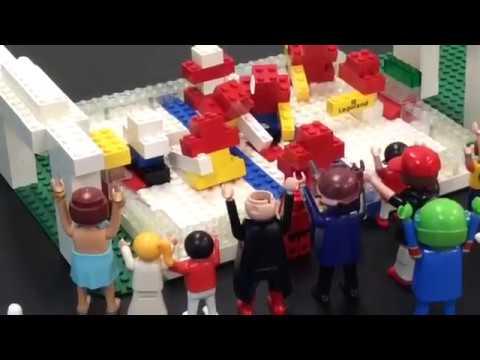 Hockey Demolition (Make Your Own LEGO® Movie) - YouTube