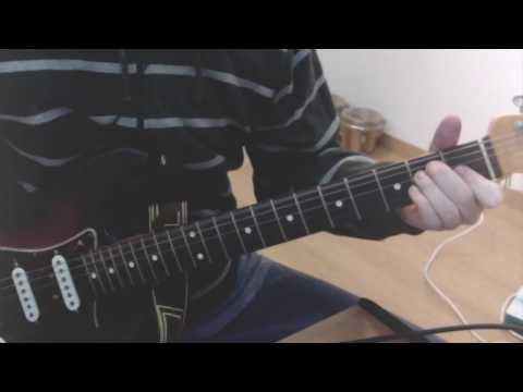Murder one Metallica intro guitar tutorial chords