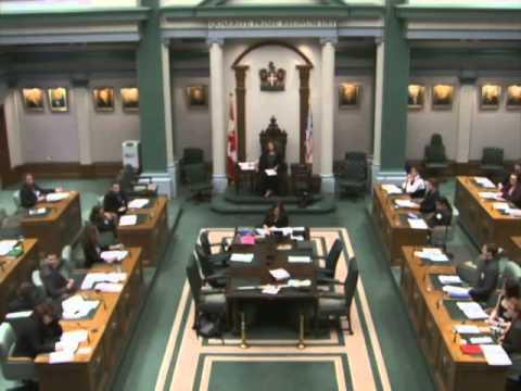 Newfoundland and Labrador Youth Parliament 2015
