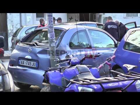 Report TV - Video/Tiranë, policia përplaset me trafikantët e drogës