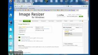How to Resize Photos: Image Resizer for Windows 7