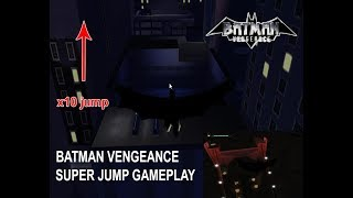 Batman Vengeance Gameplay Super Jump [PC] Walkhough