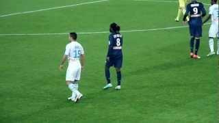 Dernière apparition de Peguy Luyindula avec le PSG
