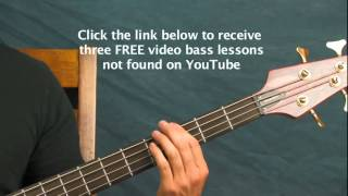 easy bass guitar lesson pop evil 100 in a 55