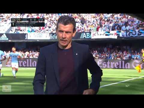 Celta de Vigo vs Atletico de Madrid J.9 La Liga 17/18 Partido Completo 22/10/17