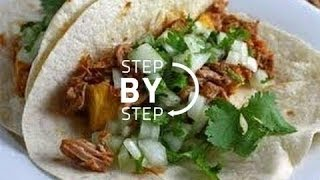 Pulled Pork Tacos, Pulled Pork Slow Cooker, Crock Pot Pulled Pork Tacos, Pulled Pork Tacos Recipe