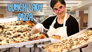 Recreating a Classic School Sausage Pizza Recipe | The OG Rectangle Sheet Pan Lunchroom Pizza
