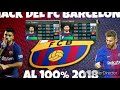HACK DEL FC BARCELONA AL 100   VER TODO EL VIDEO