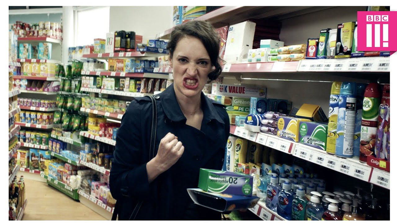 Hot corner shop action - Fleabag: Episode 2 - BBC Three ...