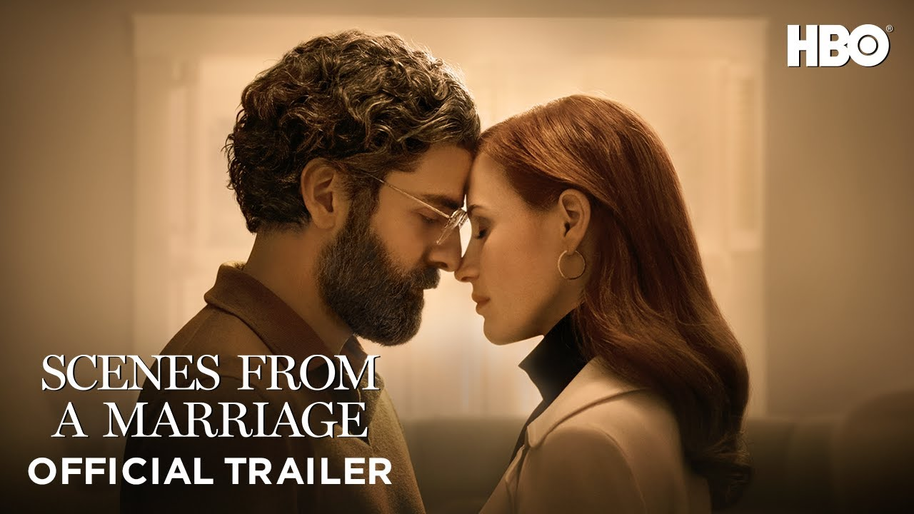 Oscar Isaac & Jessica Chastain in Scenes from a Marriage op Streamz