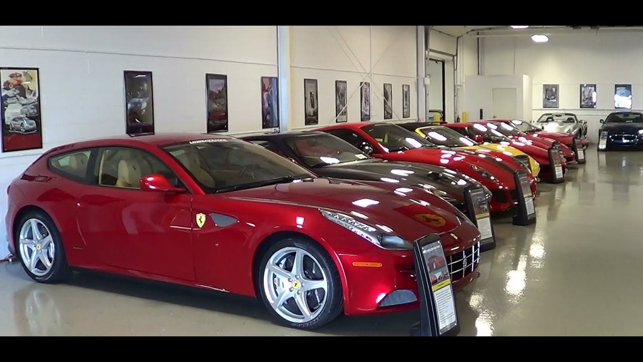 Ferrari Row Lingenfelter Private Collection - YouTube