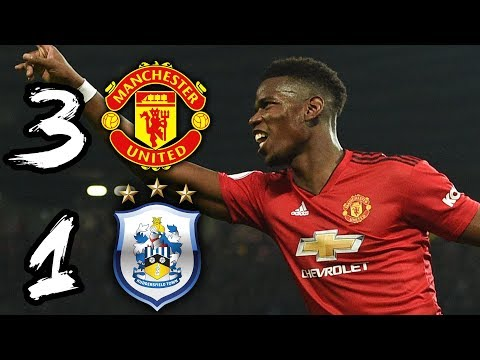 POGBA FREED BY SOLSKJAER! | MAN UTD 3-1 HUDDERSFIELD