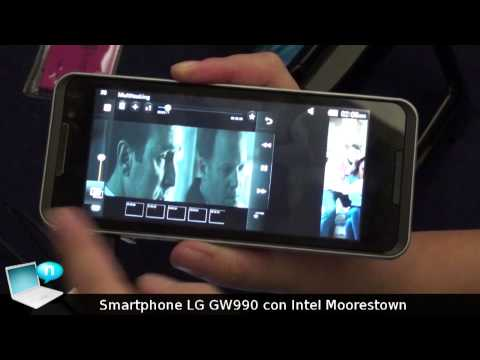 Smartphone LG GW990 con Intel Atom Z600