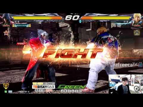 2016/10/05 Tekken 7 FR Knee's Stream 무프리카!