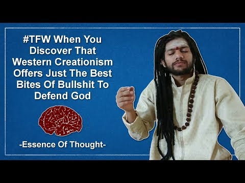 Hindu Creationist Is Upset That Atheists Ask Questions