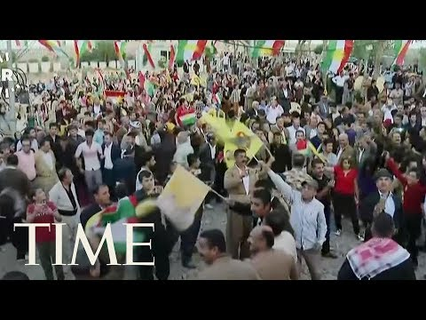 92% Of Voters Approve Kurdish Referendum On Independence From Iraq According To Officials | TIME