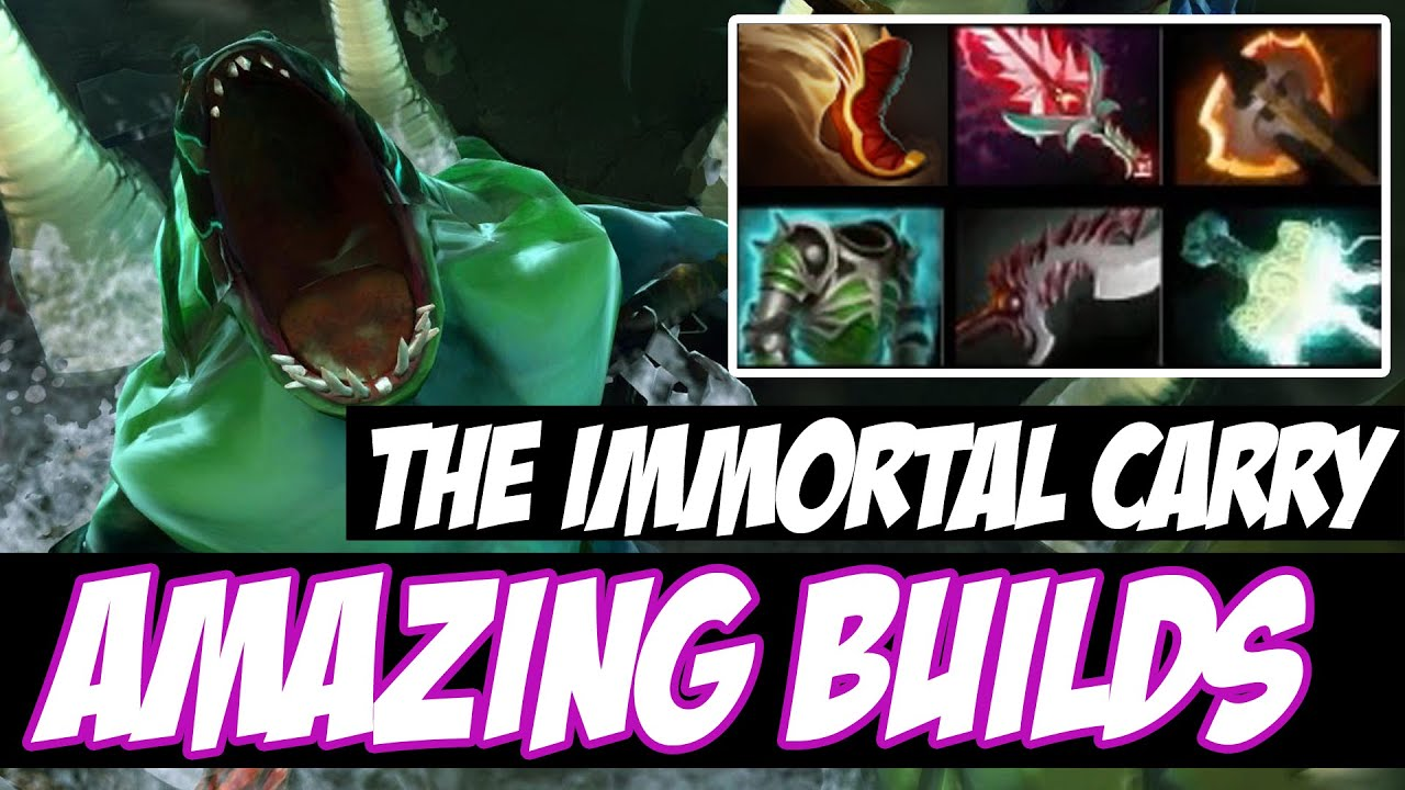 Dota 2 Immortal 14: Amazing Builds Vol 14
