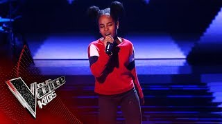 Lil Shan Shan Performs 'Supersonic' | Blind Auditions | The Voice Kids UK 2019