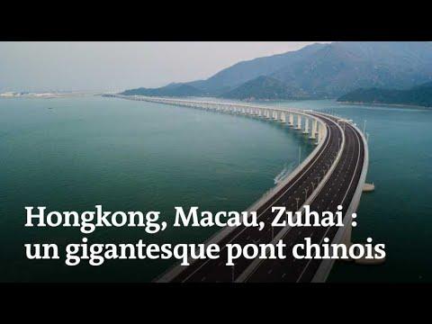 Un pont stratégique relie désormais Hongkong et la Chine