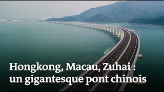 Un pont stratégique relie désormais Hongkong et la Chine thumbnail