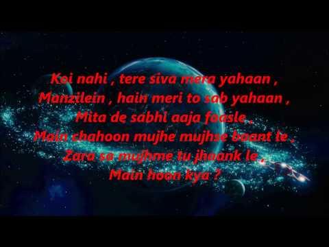Kabhi Jo Badal Barse   Karaoke with lyrics  Jackpot - Singer Arijit Singh