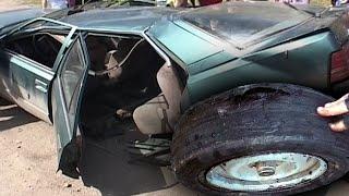 Можно ли разорвать автомобиль Когда скользят шины